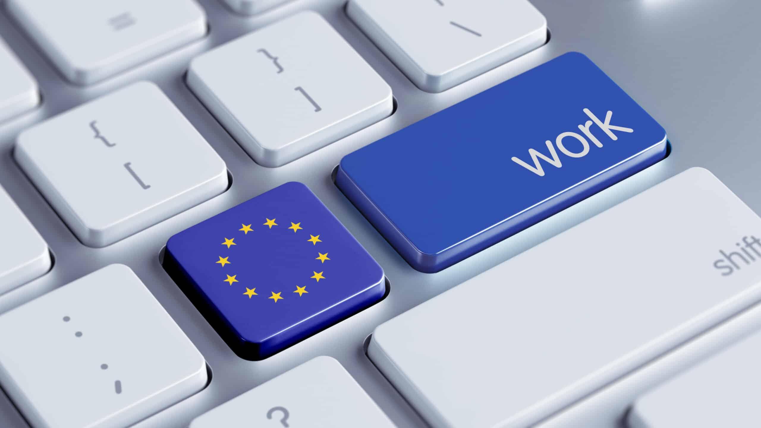 Trabajar en Europa